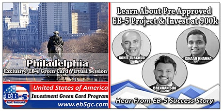 Philadelphia EB-5 Green Card Virtual  Market Series tickets