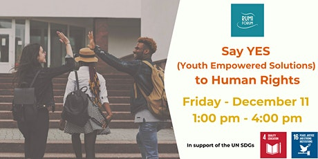 Say YES (Youth Empowerment Solutions) to Human Rights tickets