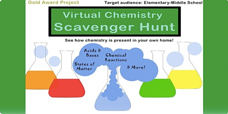 Chemistry Virtual Scavenger Hunt tickets