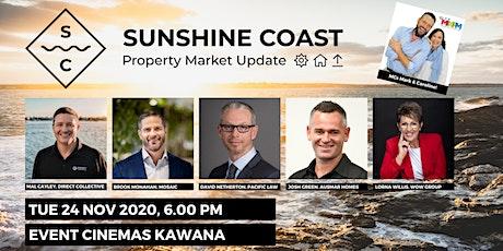 The Sunshine Coast Property Market Update 2020 tickets
