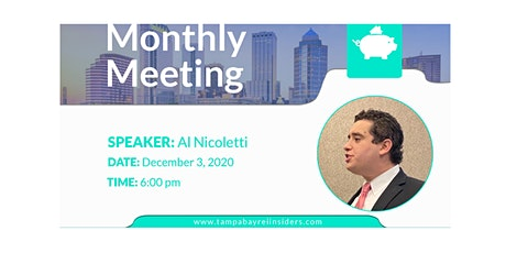 Monthly Meeting | Al Nicoletti tickets