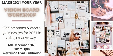 New Year, New You! Vision Board Workshop tickets