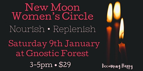 New Moon Women's Circle - 9th January tickets