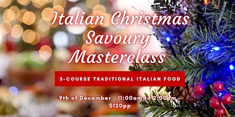 Italian Christmas Masterclass tickets