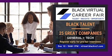 Black Virtual Career Fair (BVCF)   Dec 2020 tickets
