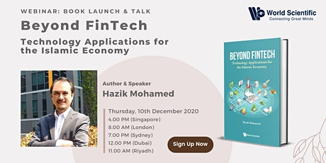 Book Talk:  Beyond Fintech: Technology Applications for the Islamic Economy tickets