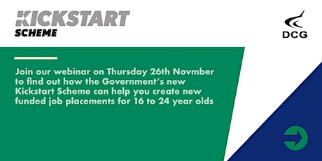 Kickstart Scheme: Support Young People into Work tickets