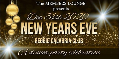 NEW YEARS EVE Reggio Calabria Club Dinner Celebration tickets
