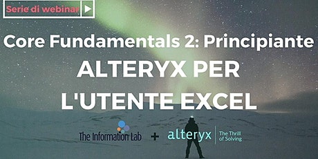 Alteryx per l'utente Excel tickets