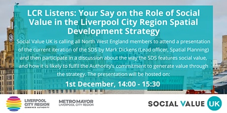 Liverpool City Region: Spatial Development Strategy Presentation tickets