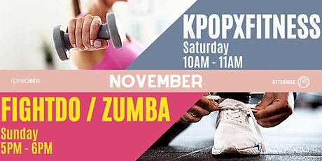 Every Saturday KpopXFitness Virtual Workout tickets