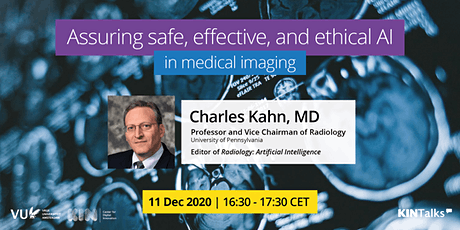 KINTalks: Assuring safe, effective, and ethical AI in medical imaging tickets