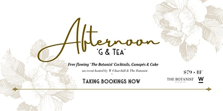 THE BOTANIST 'G & TEA' tickets