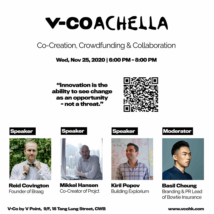V-Coachella Talks: Co-Creation, Crowdfunding & Collaboration image