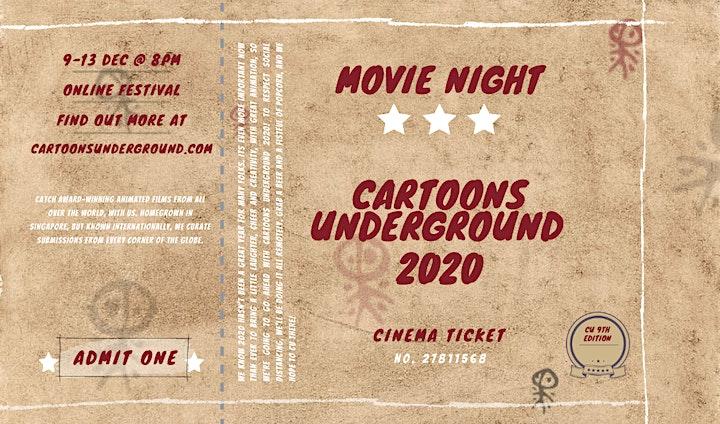 Cartoons Underground 2020: The Online Edition image