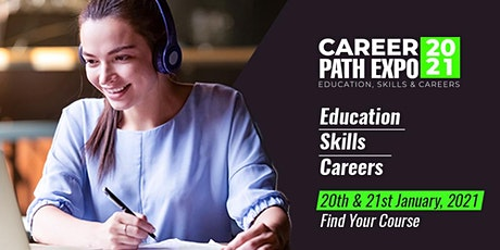 Career Path Expo - Wednesday 20th & Thursday 21st January 2021 tickets