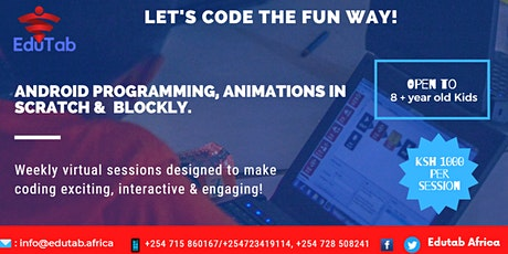 CODING THE FUN WAY (for 8+ year old kids) tickets