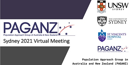 PAGANZ Annual General Meeting, PAGANZ Sydney 2021 Virtual Meeting tickets