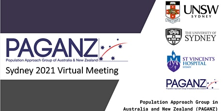 Oral Presentation Session 3, PAGANZ Sydney 2021 Virtual Meeting tickets