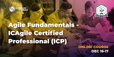 Agile Fundamentals - ICAgile Certified Professional (ICP) tickets