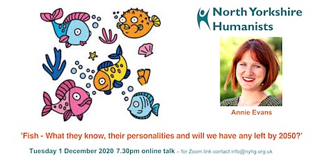 'Fish - What they know, their personalities and will any be left by 2050?' tickets