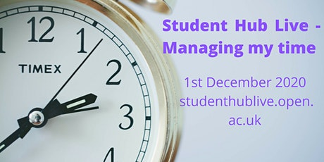 Managing my time (repeated) (19:00-20:00) tickets