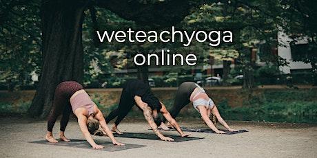 weteachyoga online 27.12.2020 - Open Class Tickets