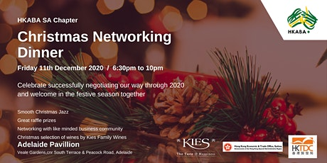 Christmas Networking  Dinner tickets
