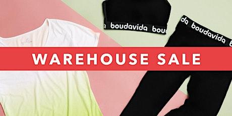 Boudavida Warehouse Sale tickets