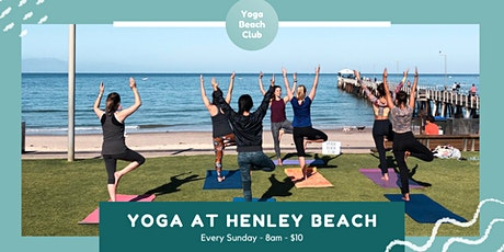 Yoga at Henley Beach (cancelled due to weather) tickets