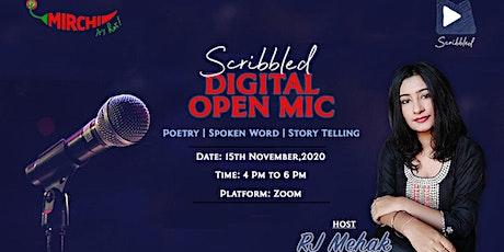 Mirchi Scribbled Digital Open Mic tickets