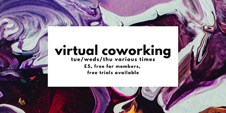 Virtual Coworking tickets