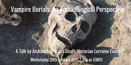 Vampire Burials: An Archaeological Perspective tickets