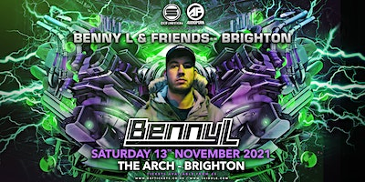 Benny L - Reactions Album Party - Brighton Poster