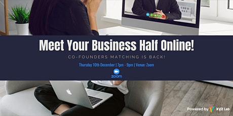 Meet Your Business Half by Co-Founders Matching Singapore! (FREE) tickets