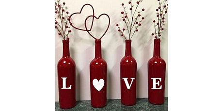 LOVE Bottle Paint Display: Sip and Craft at Magnanini Winery!!! tickets