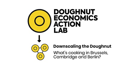 Downscaling the Doughnut: what's cooking in Brussels, Cambridge and Berlin? biglietti
