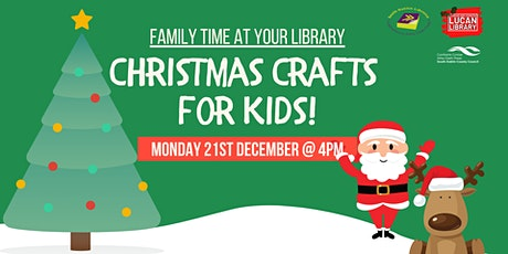 Family Time at your Library: Christmas Crafts for Kids! tickets