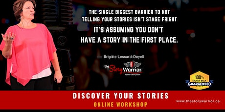 Discover Your Stories January 6, 2021 tickets