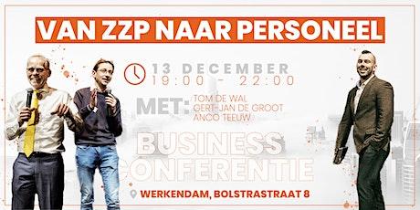 Van ZZP naar personeel | Business Avond tickets