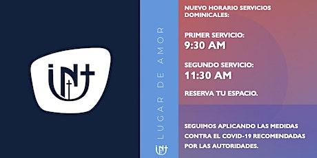 Servicios Domingos entradas