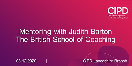 Mentoring with Judith Barton from The British School of Coaching tickets