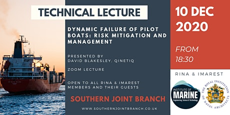 Dynamic Failure of Pilot Boats: Risk Mitigation and Management tickets
