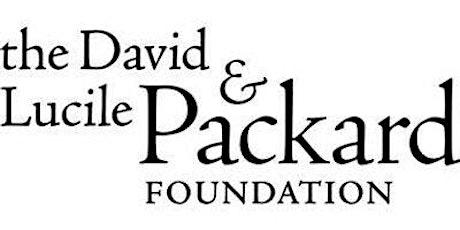 Packard Foundation Fellowships - Fall 2020 tickets