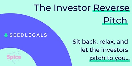 Investor Reverse Pitch tickets