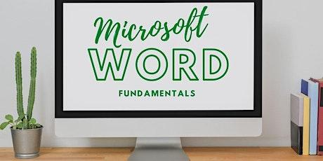 Microsoft Word, Fundamentals tickets