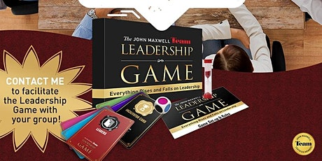 John Maxwell Team Leadership Game tickets