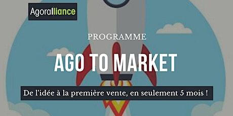 Programme coopératif : AGO To Market...De l'idée à la première vente ! billets