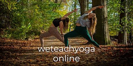weteachyoga online 29.11.2020 - Open Class Tickets