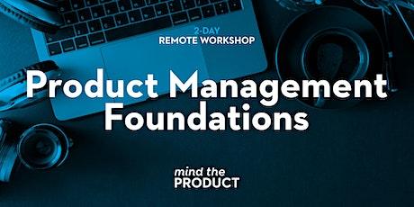 Product Management Foundations Remote Workshop - British Summer Time entradas